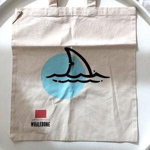 DWR Whalebone Shopping Canvas Cotton Tote Bag NEW